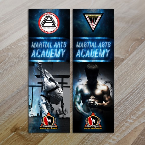 Help me create a visually appealing display for my Martial Arts Pro Shop!