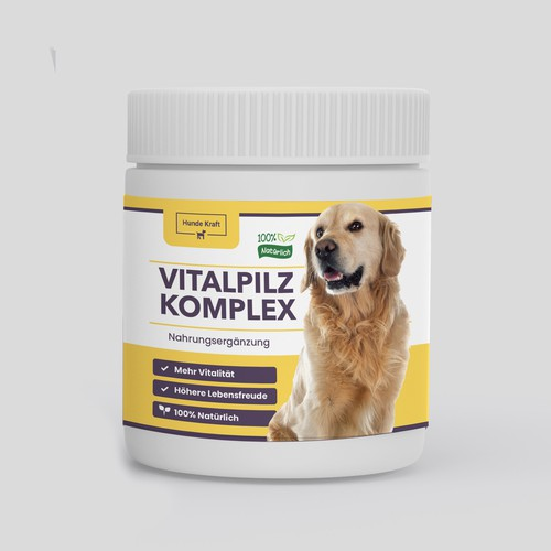Vitalpilzkomplex packaging