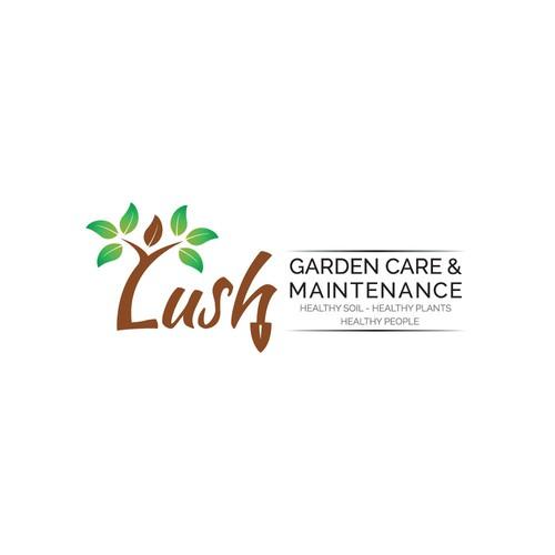 Logo concept for GARDEN CARE & MAINTENANCE