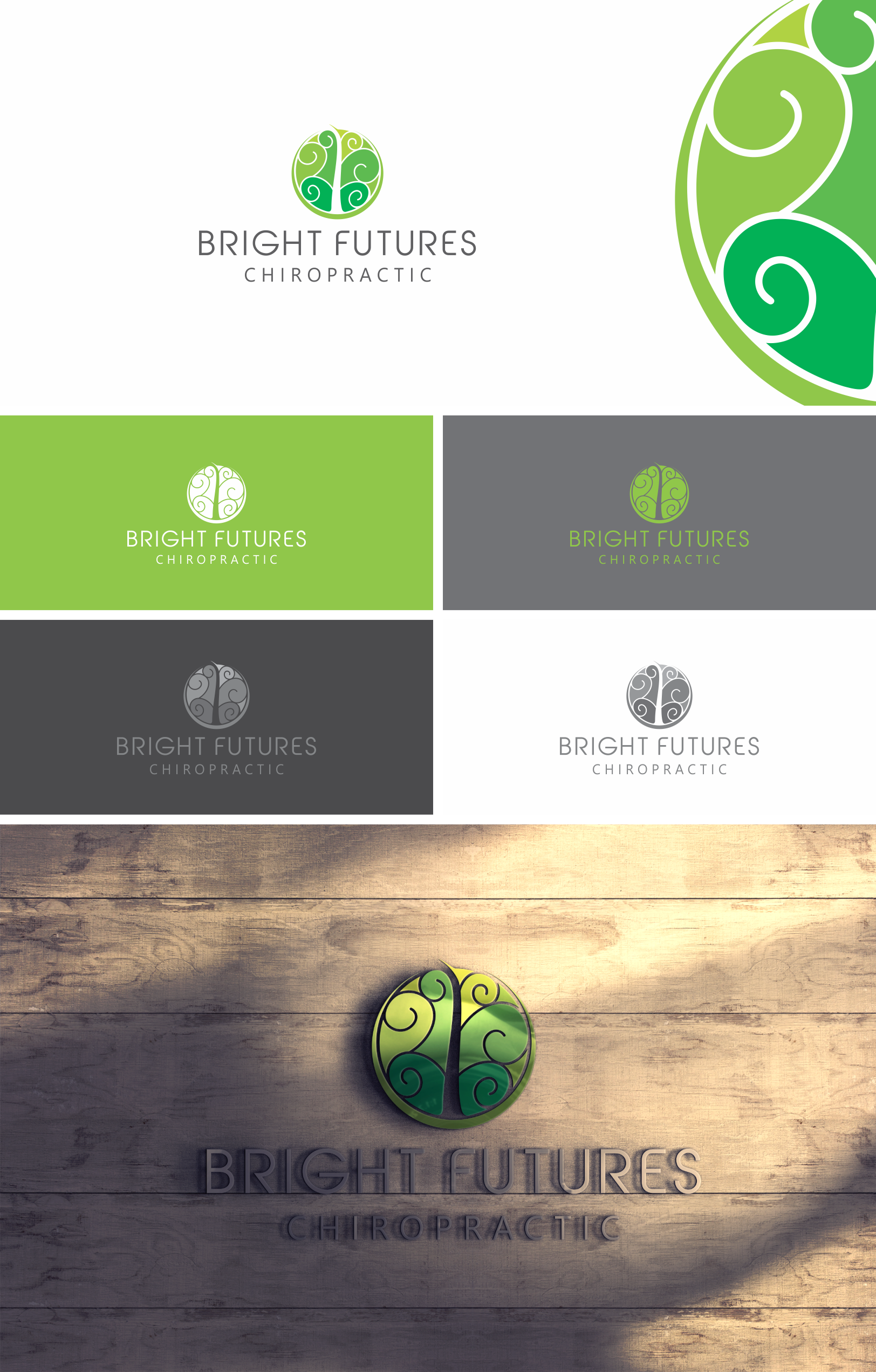 Help me Revitalize Lives with a Revitalized Logo for Bright Futures Chiropractic!