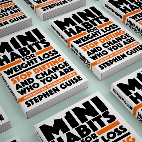 Mini Habits for Weight Loss book design