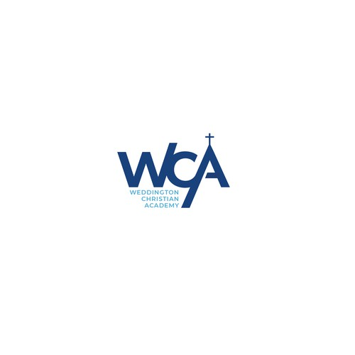 Bold design logo entry for Weddington Christian Academy