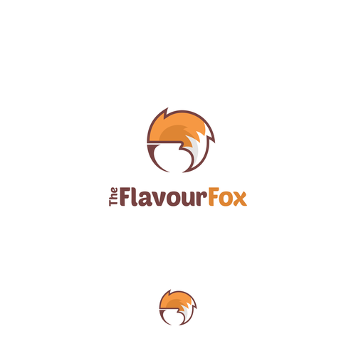 Design a cool modern logo for The Flavour Fox: a new coffee, dessert and gelato/Ice-cream shop