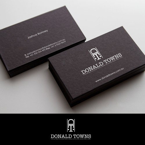 Help Donald Towns with a new logo