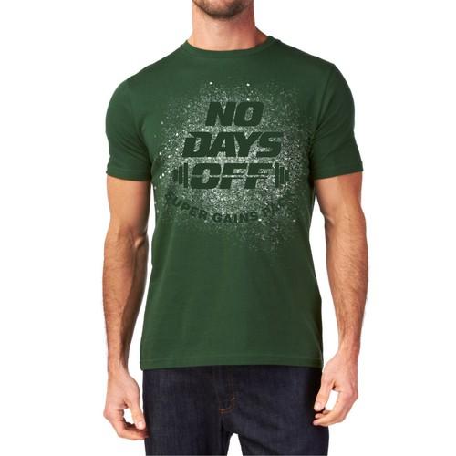 No Days Off - Fitness Shirt
