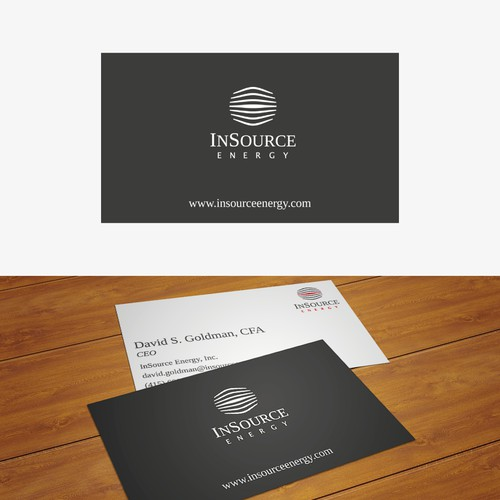 Logo & Business card for energy control company