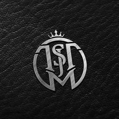 Family crest logo TSMJT letters