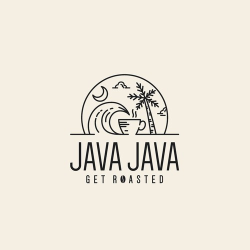 Logo concept for Java Java
