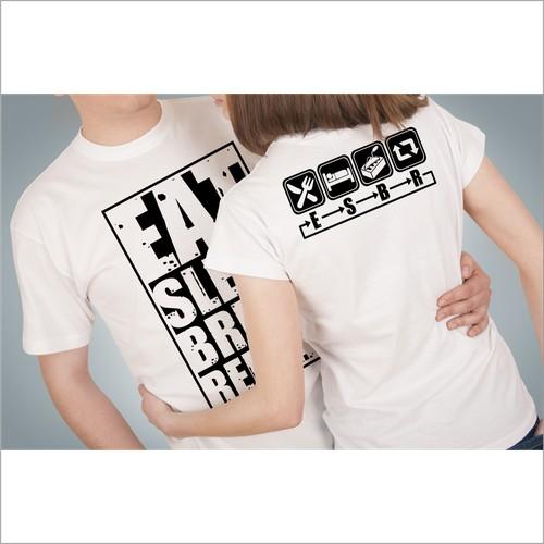 Design a funny t-shirt