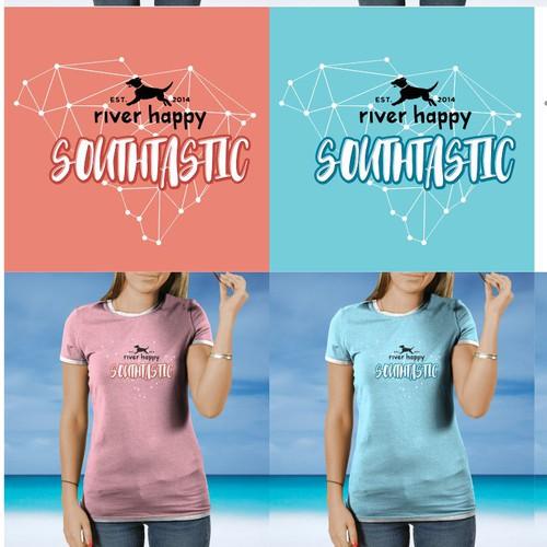 TShirt Design for River Happy