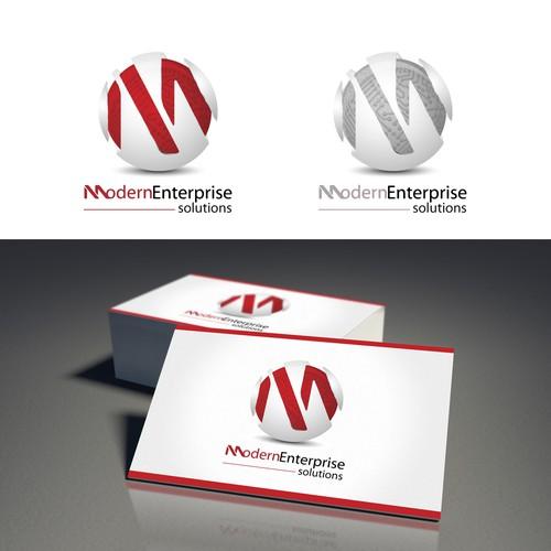Create a winning design logo for Modern Enterprise Solutions