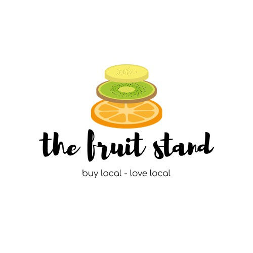 Logo for The fruit stand - local fruit shop