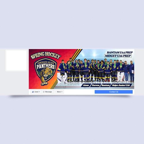 Elite Hockey Facebook Cover