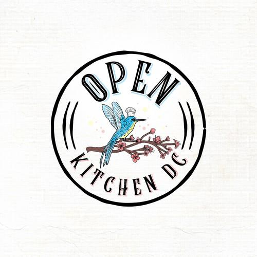 """Logo """"Open Kichen DC"""