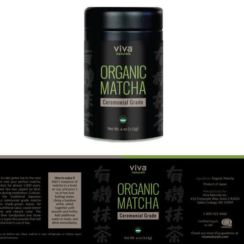 Label Design for Viva Naturals