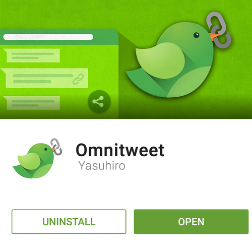 Omnitweety Material Design