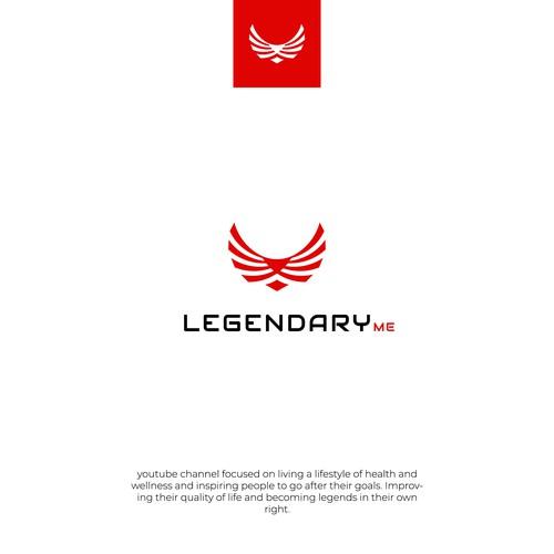 Legendary Me logo design