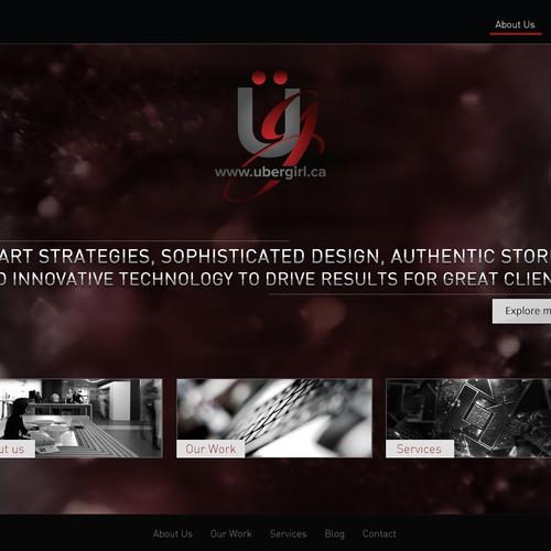 Create the best website for UBERgirl.ca