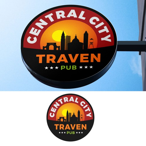 CENTRAL CITY TAVERN SIGNAGE