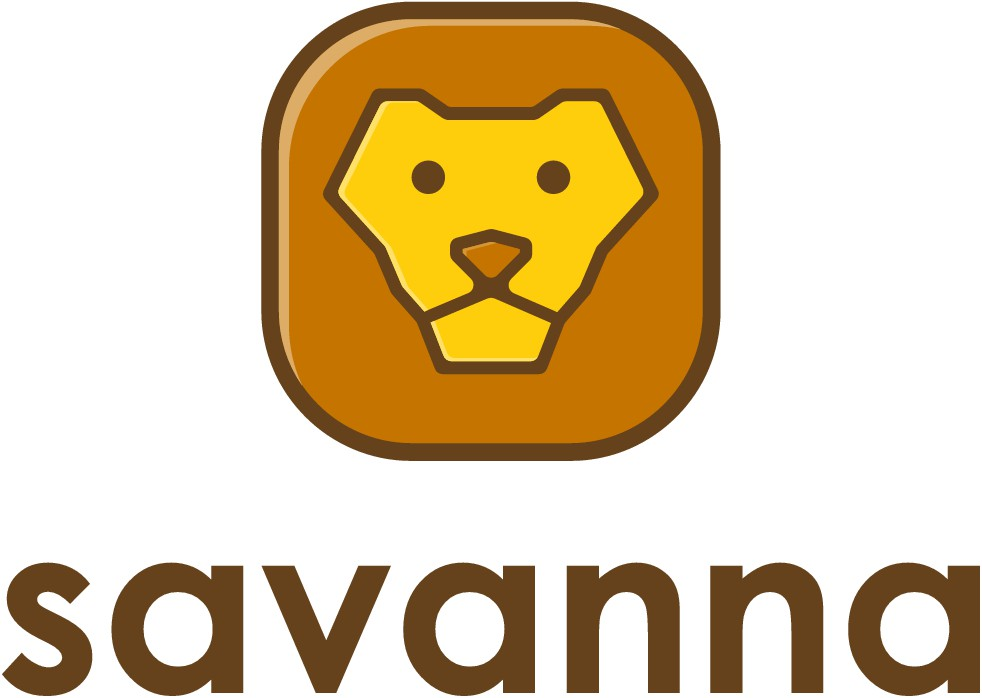 Savanna.io; logo for web service that provides the forum for freelance web developers🐯