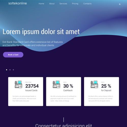 Redesign landing page, website have 100k+ visitors