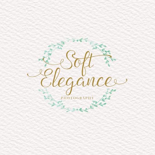 Soft Elegance Photography Logo Design