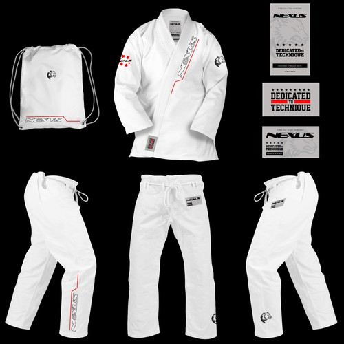 Jiu Jitsu training uniform