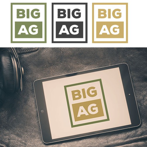 High-end Ag Producer Website and Catalog Logo