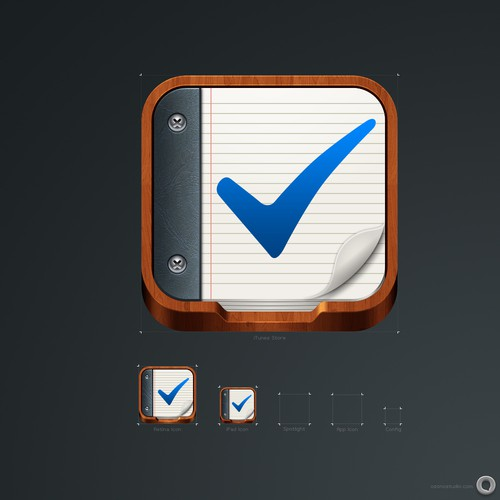Need outstanding iPhone icon for task management based app