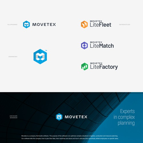 Logo concept for Movetex