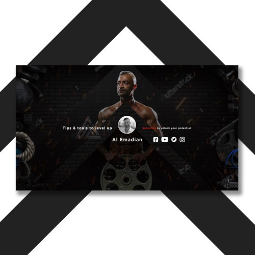 banner for gym