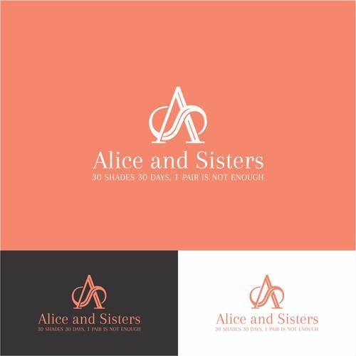 Logo design for Alice & Sisters