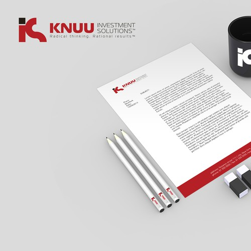 *Guaranteed Prize!* KNUU Investment Solutions™needs a logo & business card