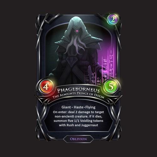Phageborn Card Design