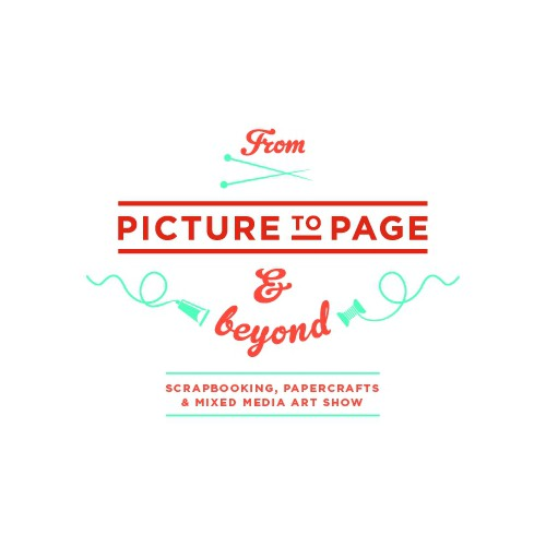 Logo concept for 'From Picture to Page and Beyond'