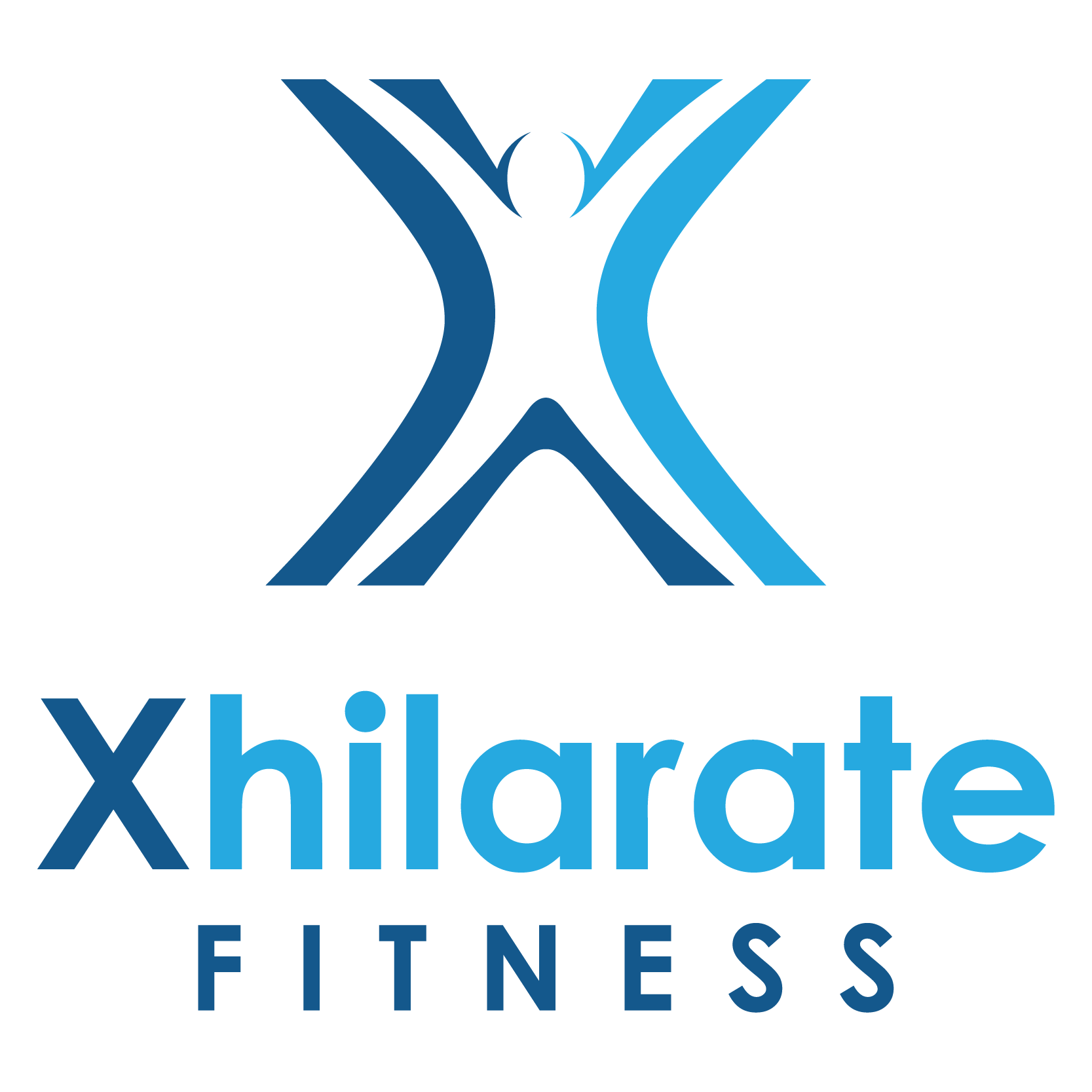 Xhilarate Fitness needs a stand out logo where people will come to know it just by the 'X'. The 'X' needs to come alive