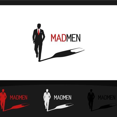 Logo for elegant bar - MADMEN