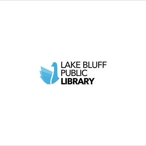logo concept for lake bluff public library