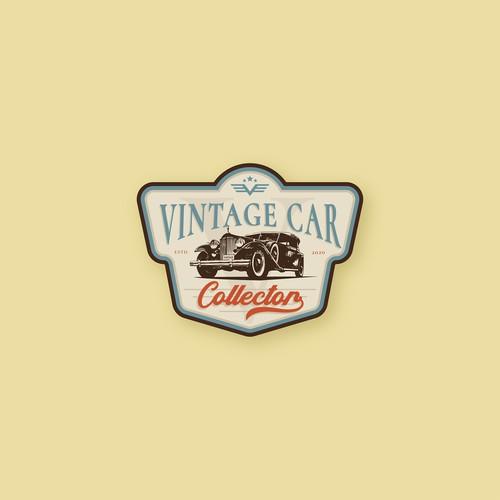 logo design for Vintage Car Collection