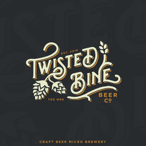 Twisted bine