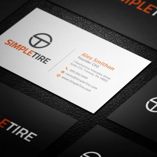 Modern & Professional Business Card Design