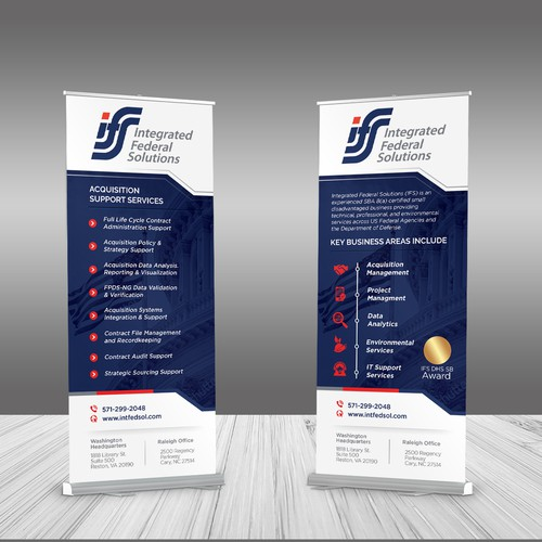 A Modern Banners for Management Consulting Services