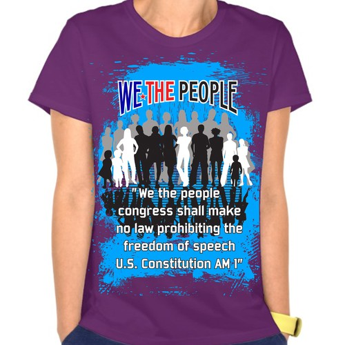 """WE THE PEOPLE"" T-shirt design contest"