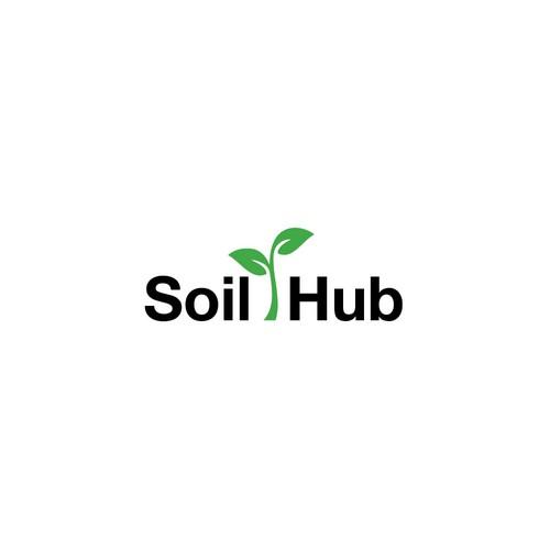 Logo concept for Soil Hub