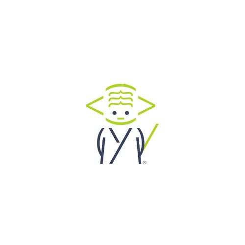 Master Yoda logo for Jedi Sourcing