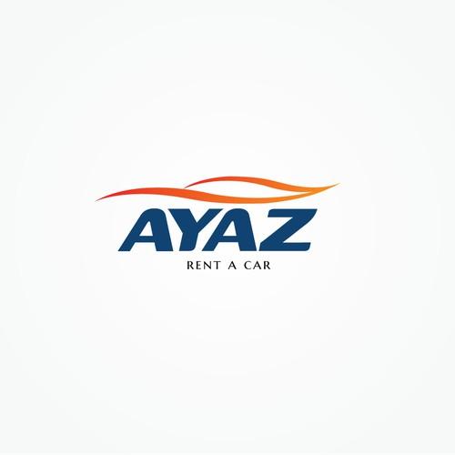 "Designing Logo for ""ayaz"" Car Rental Company"
