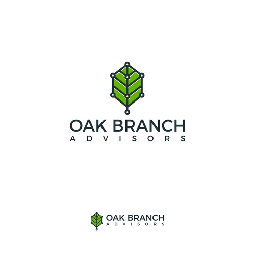 Logo concept for Oak Branch