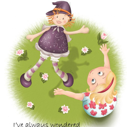 """Children's Storybook Illustration - """"How To Catch A Witch"""" - meant foryoung children"""