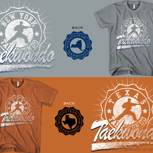 Need Modern Taekwondo Shirt Design