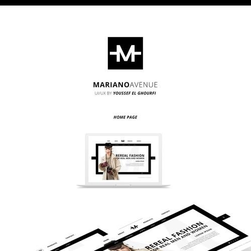 MARIANO AVENUE | Fashion Website Design